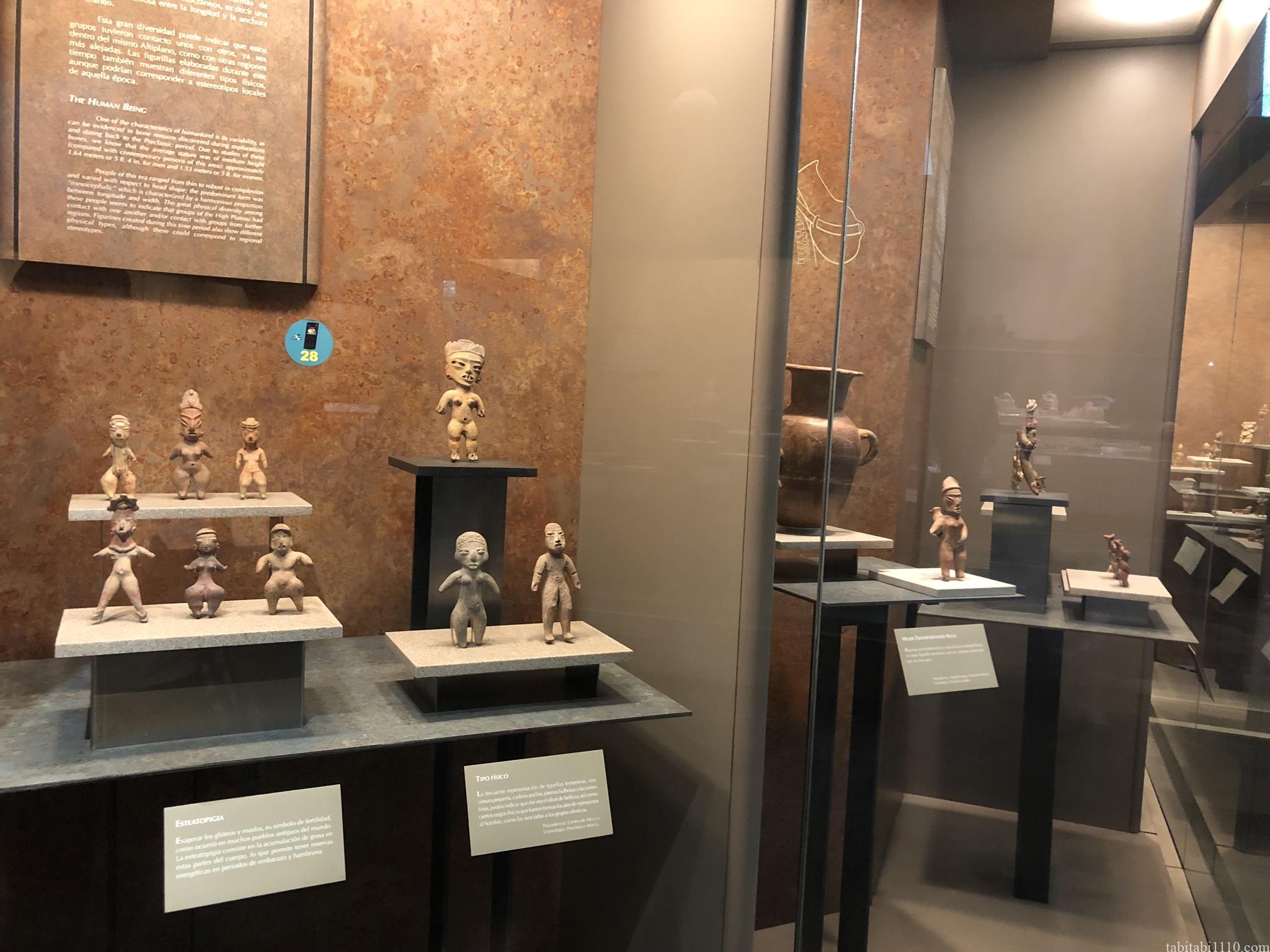 国立人類学博物館|小さい像