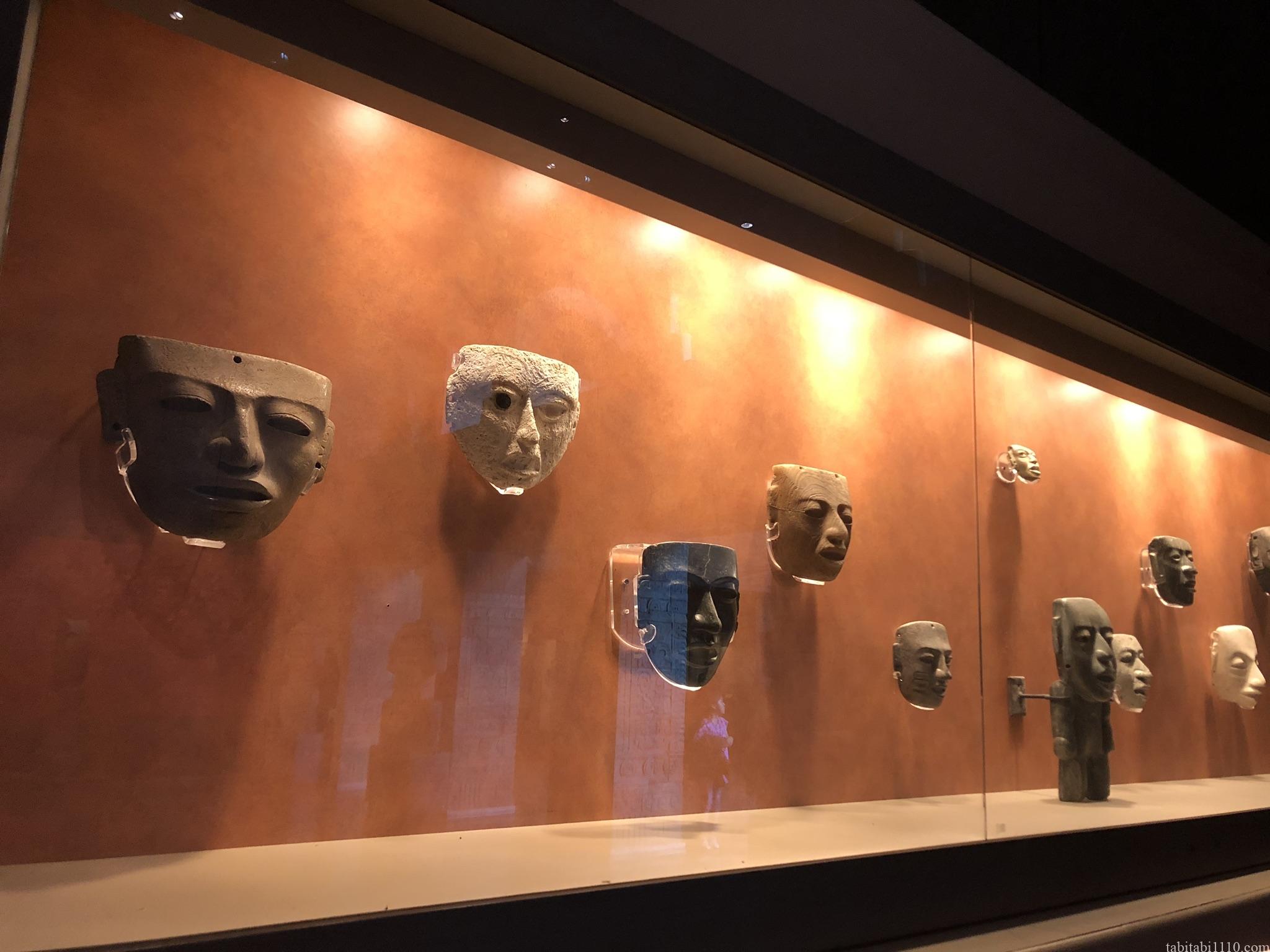 国立人類学博物館|仮面