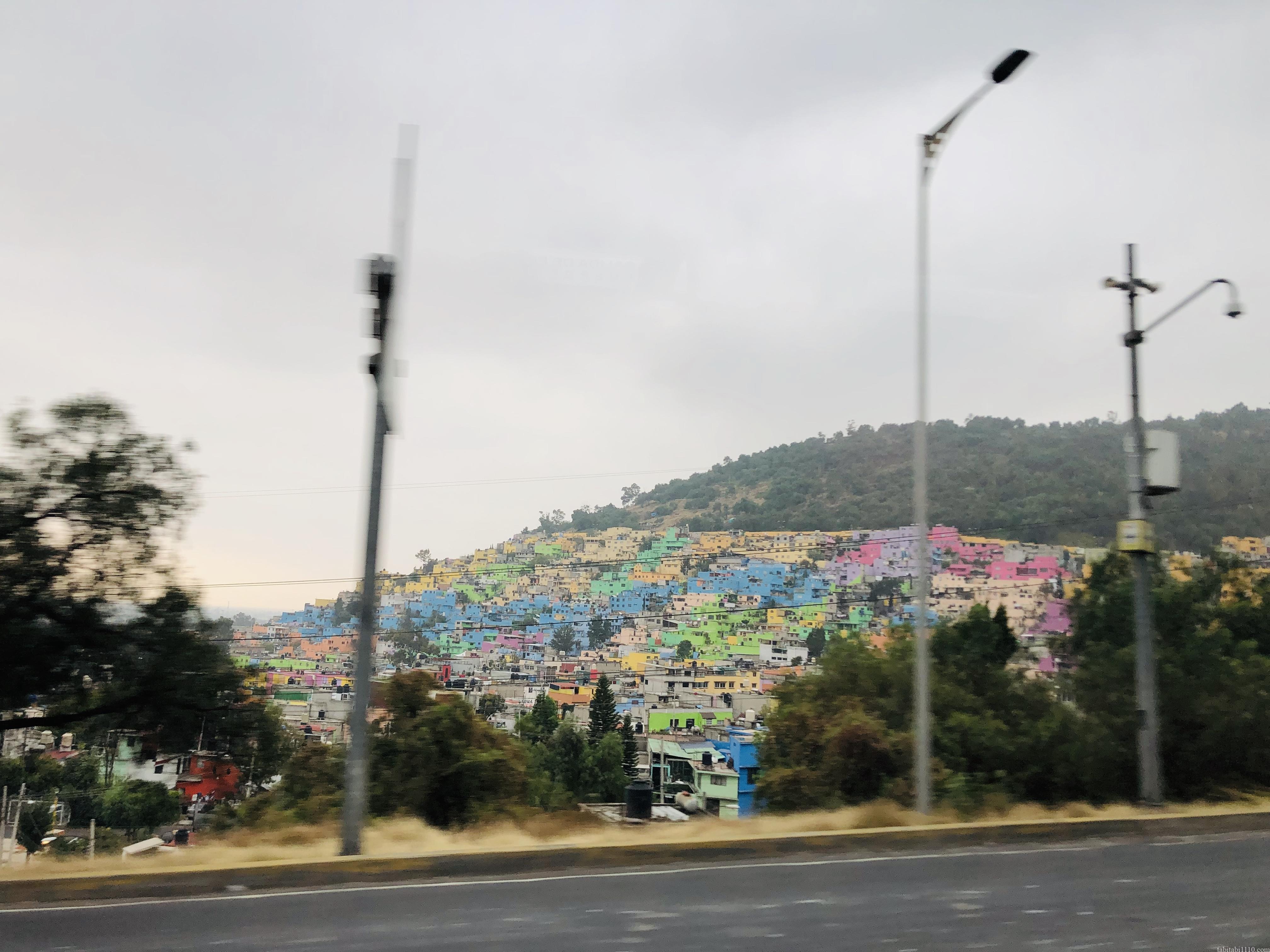 メキシコシティ郊外