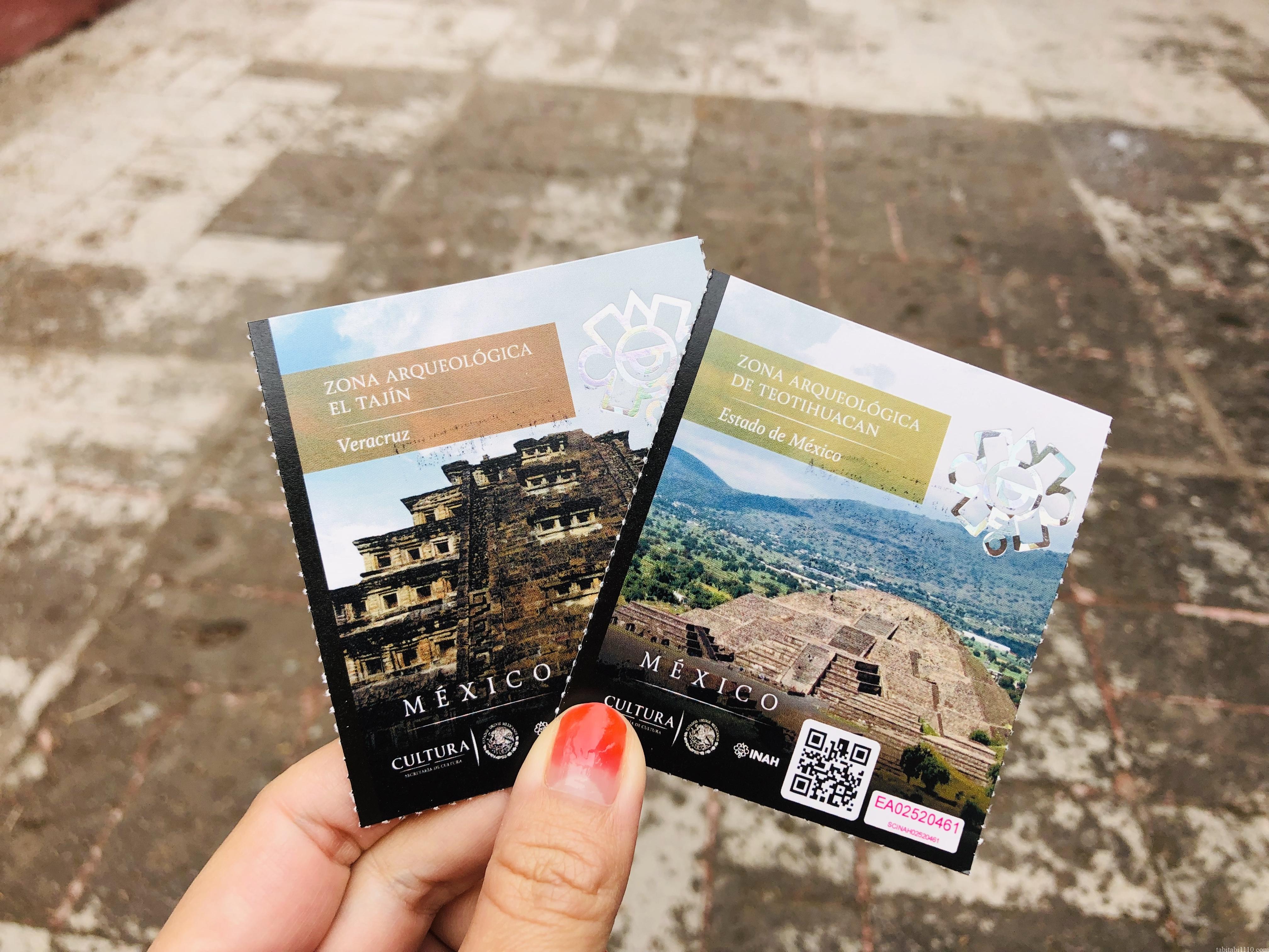トゥーラ遺跡|チケット