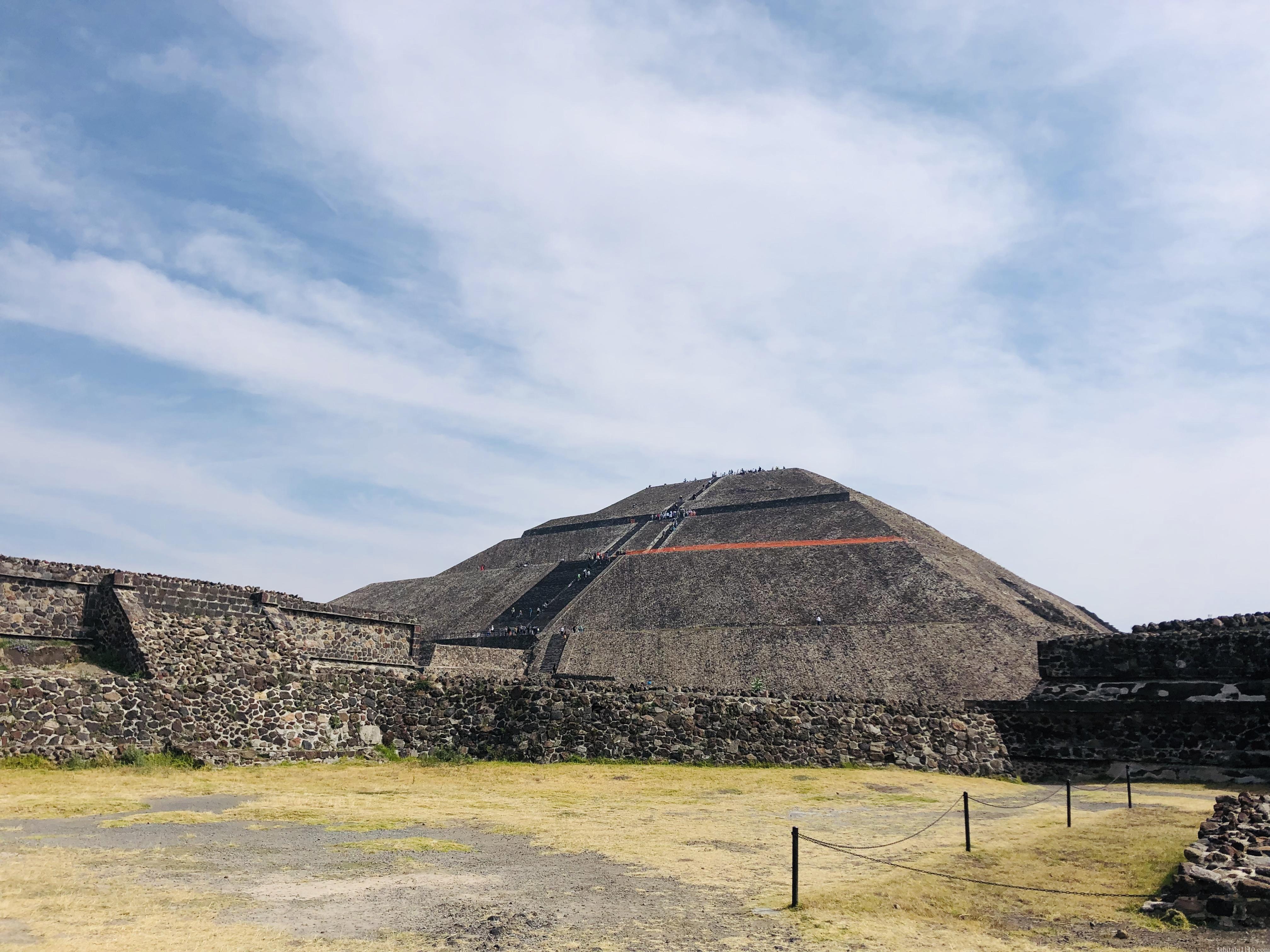 テオティワカン|太陽のピラミッド