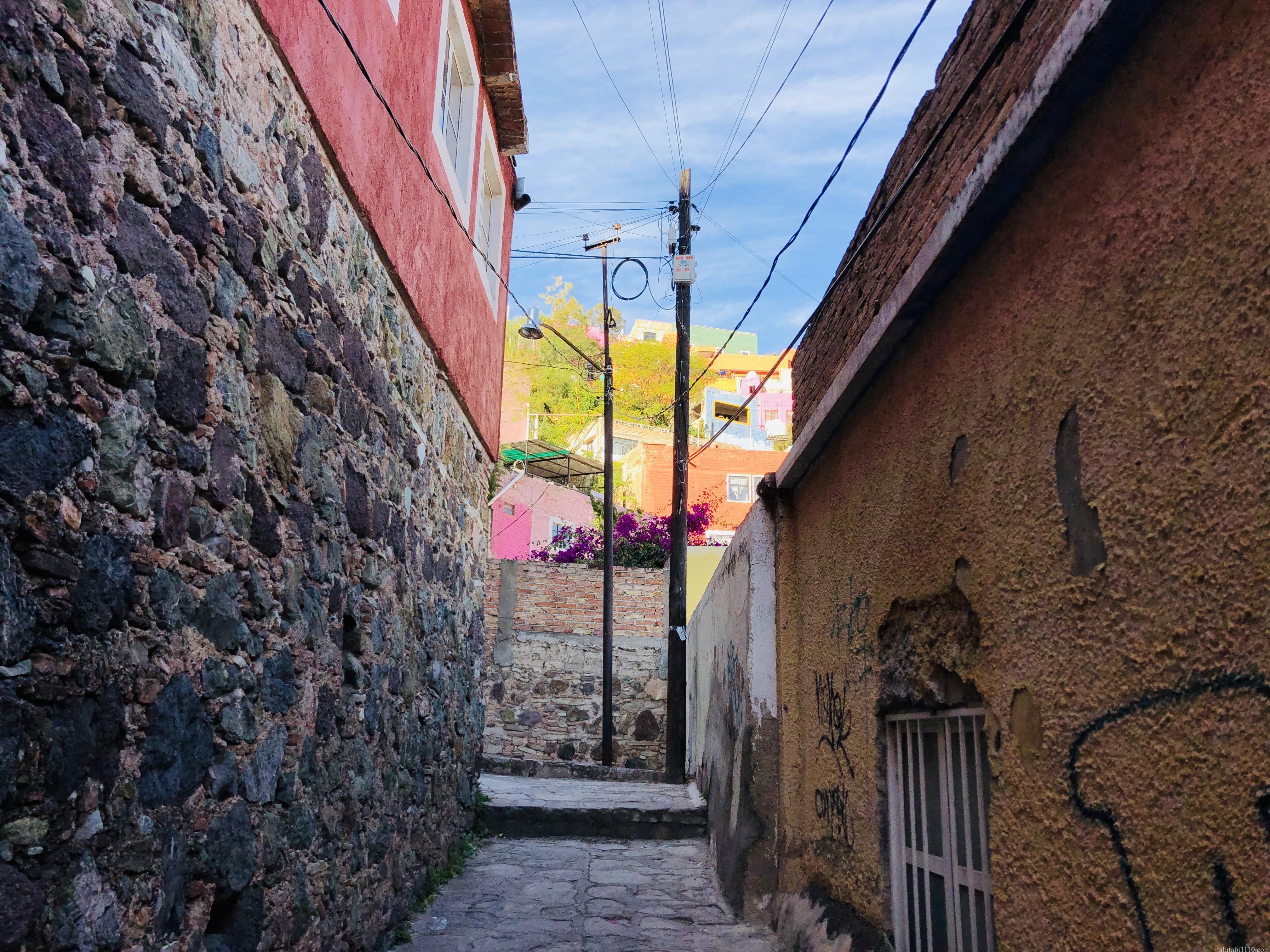 グアナファト|住宅街