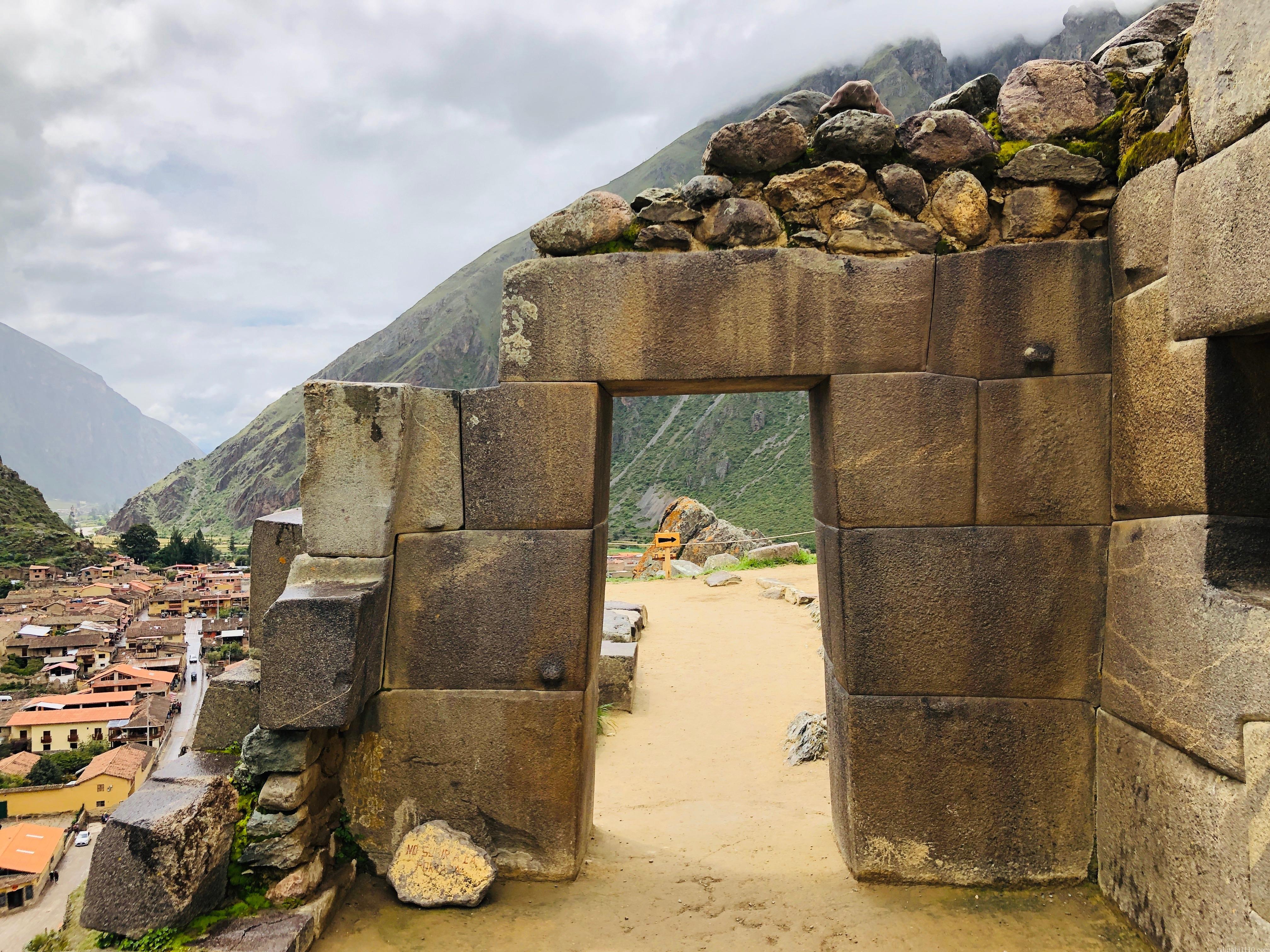オリャンタイタンボ遺跡