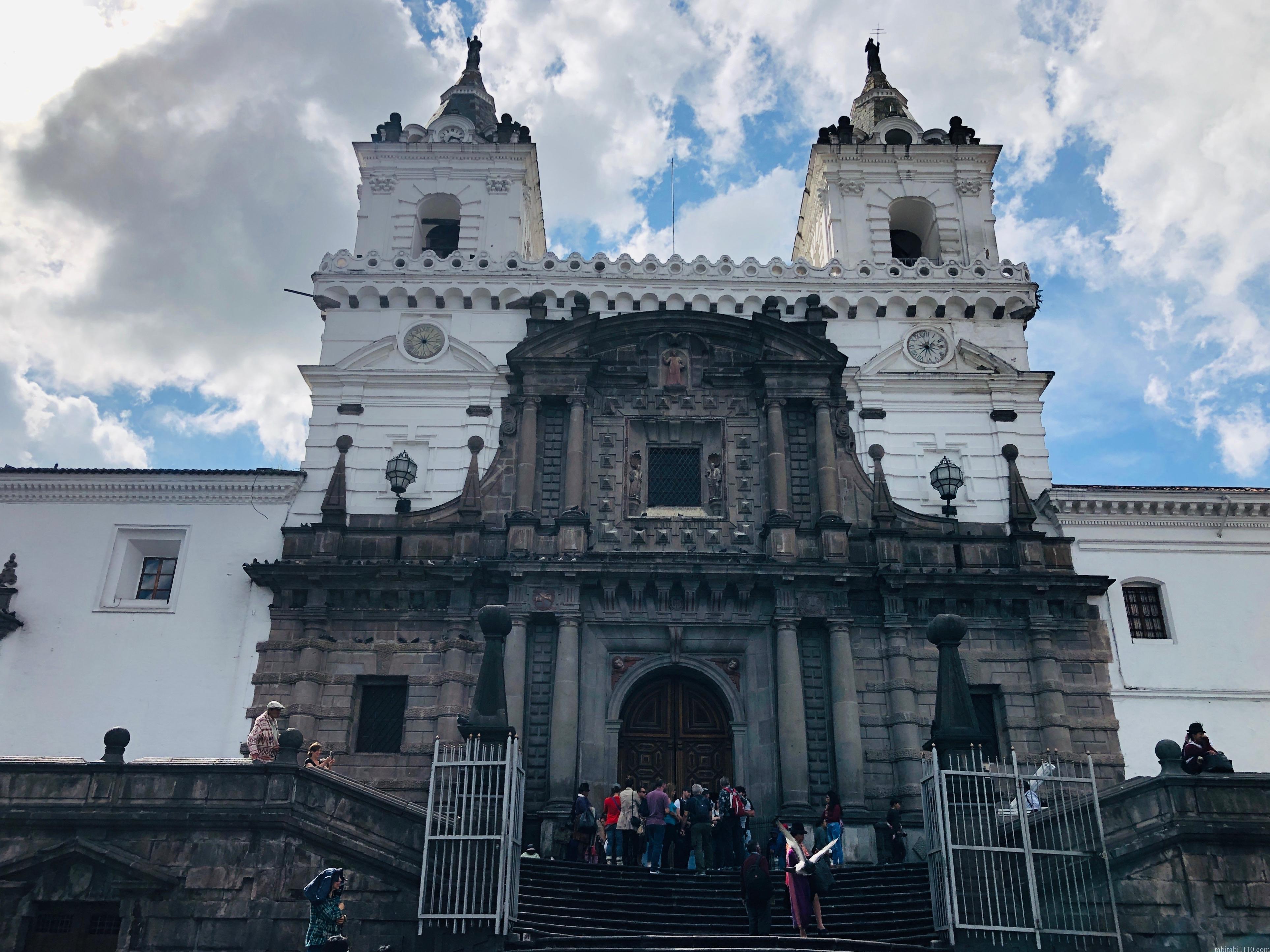 キト 旧市街 サン・フランシスコ教会・修道院