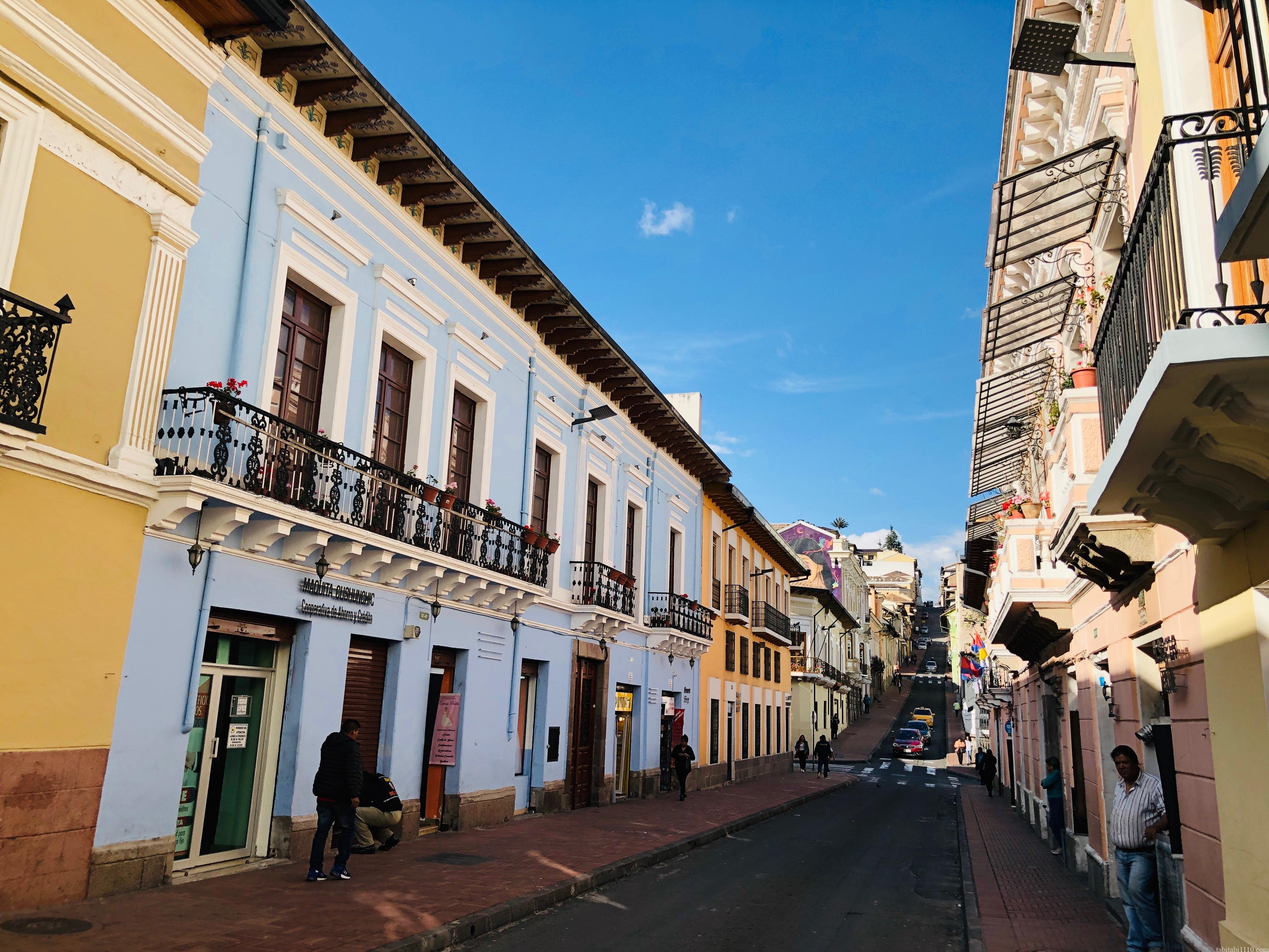 キト 旧市街