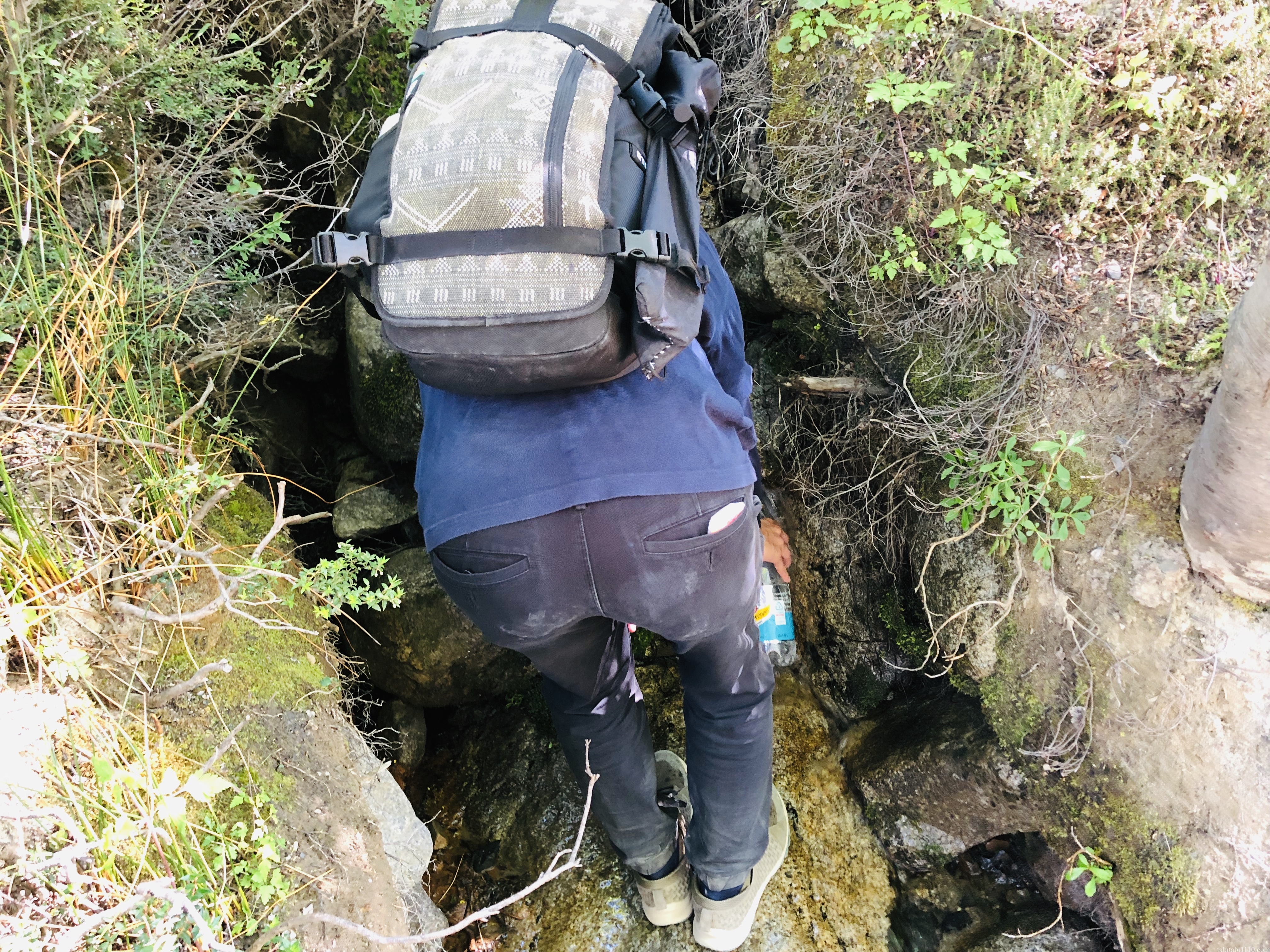 パイネ国立公園|水汲み