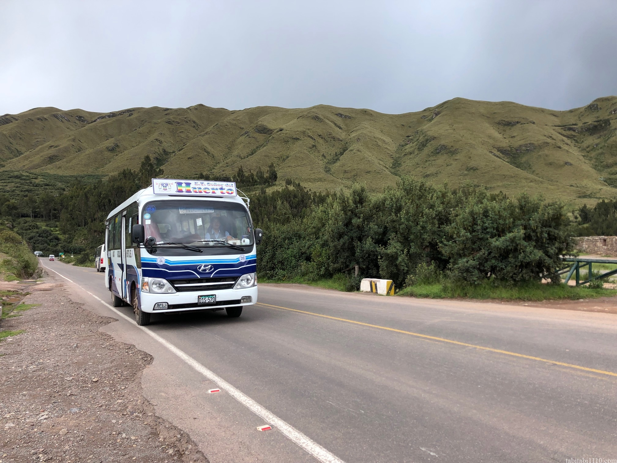 クスコ タンボマチャイ バス