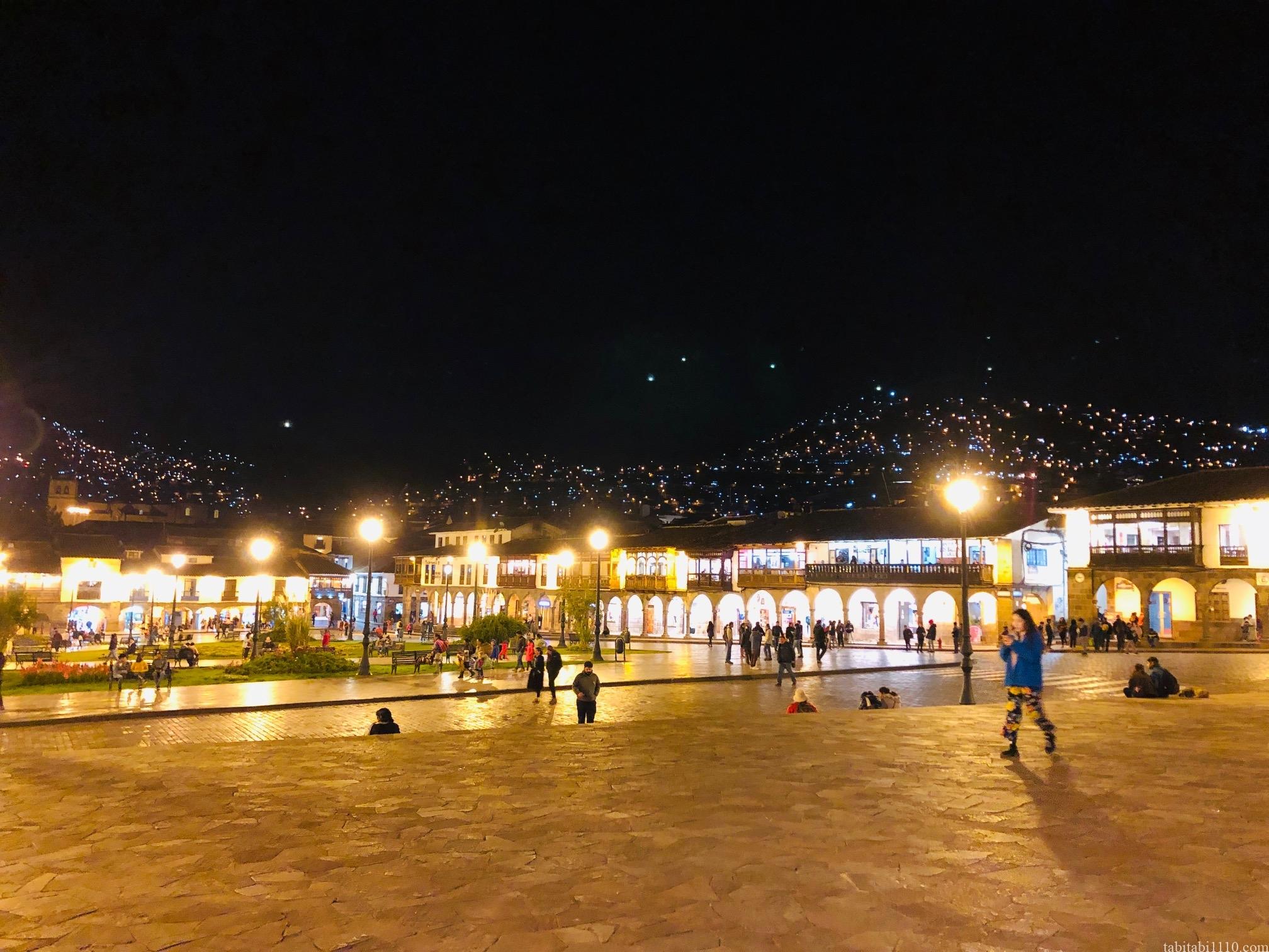 クスコ 夜景