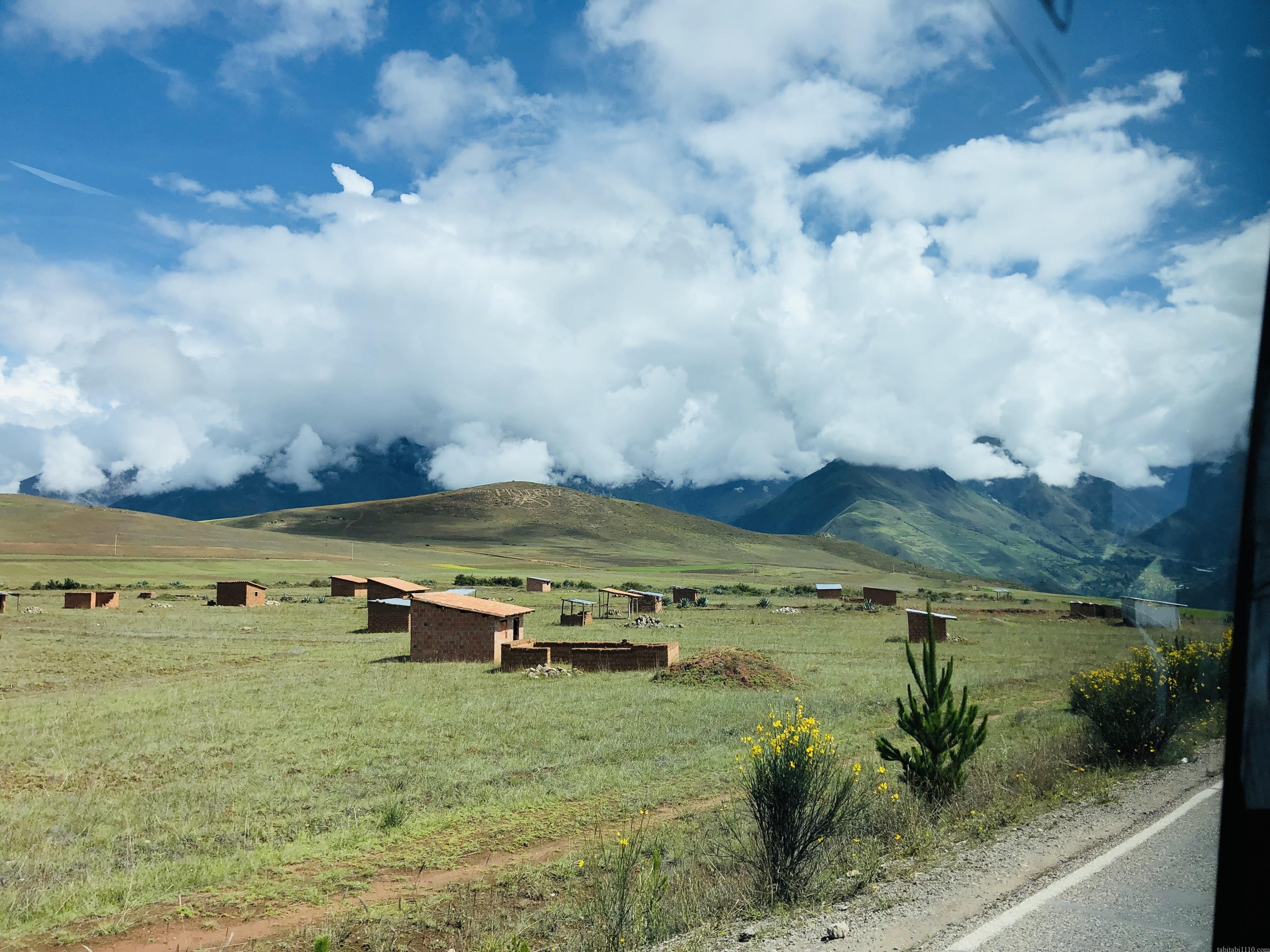 クスコから水力発電所|道中