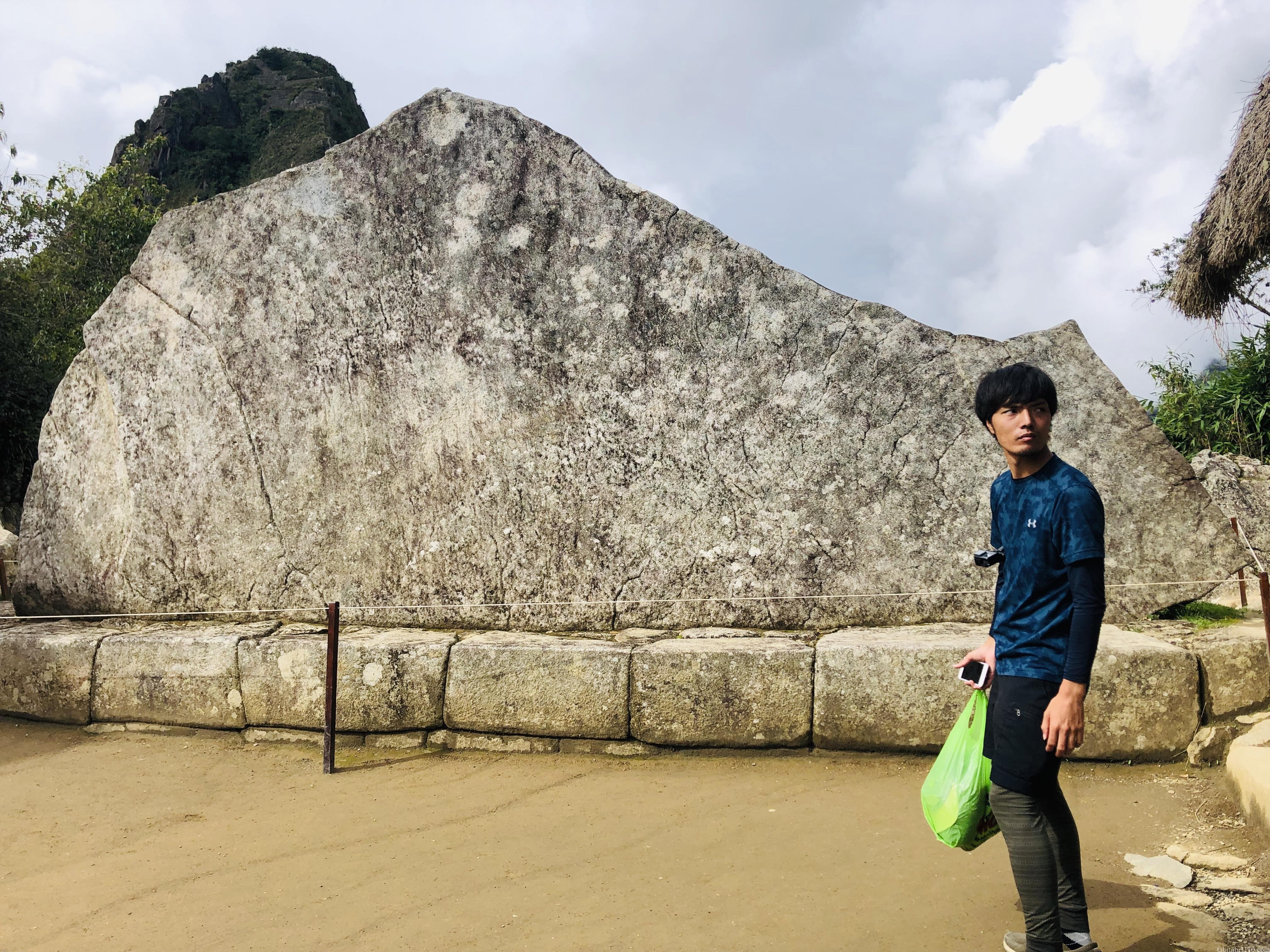 マチュピチュの岩