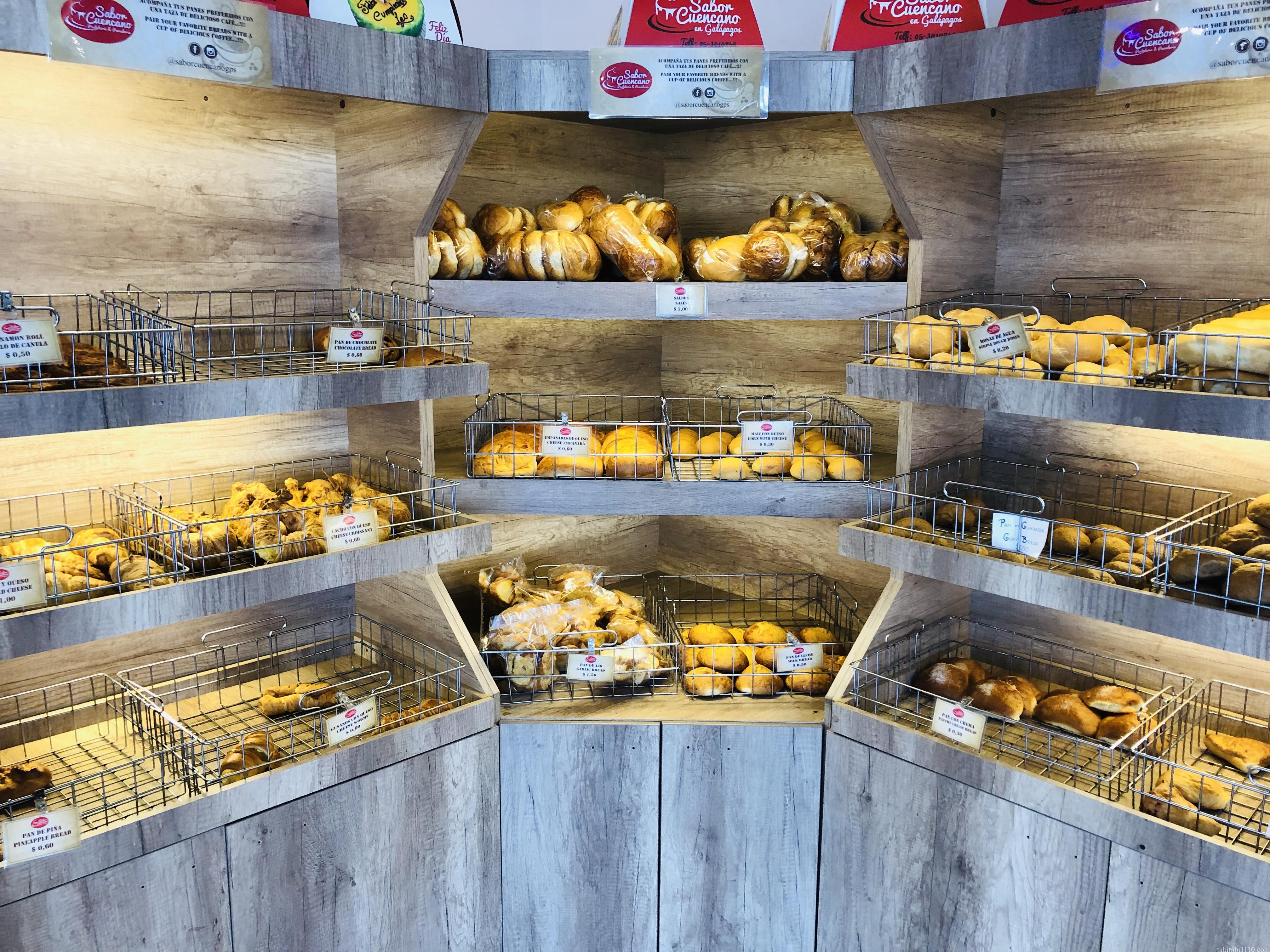 サンクリストバル島のパン屋さん