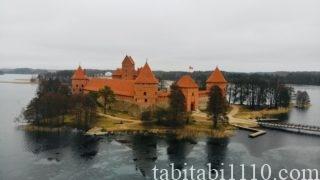リトアニア トラカイ城