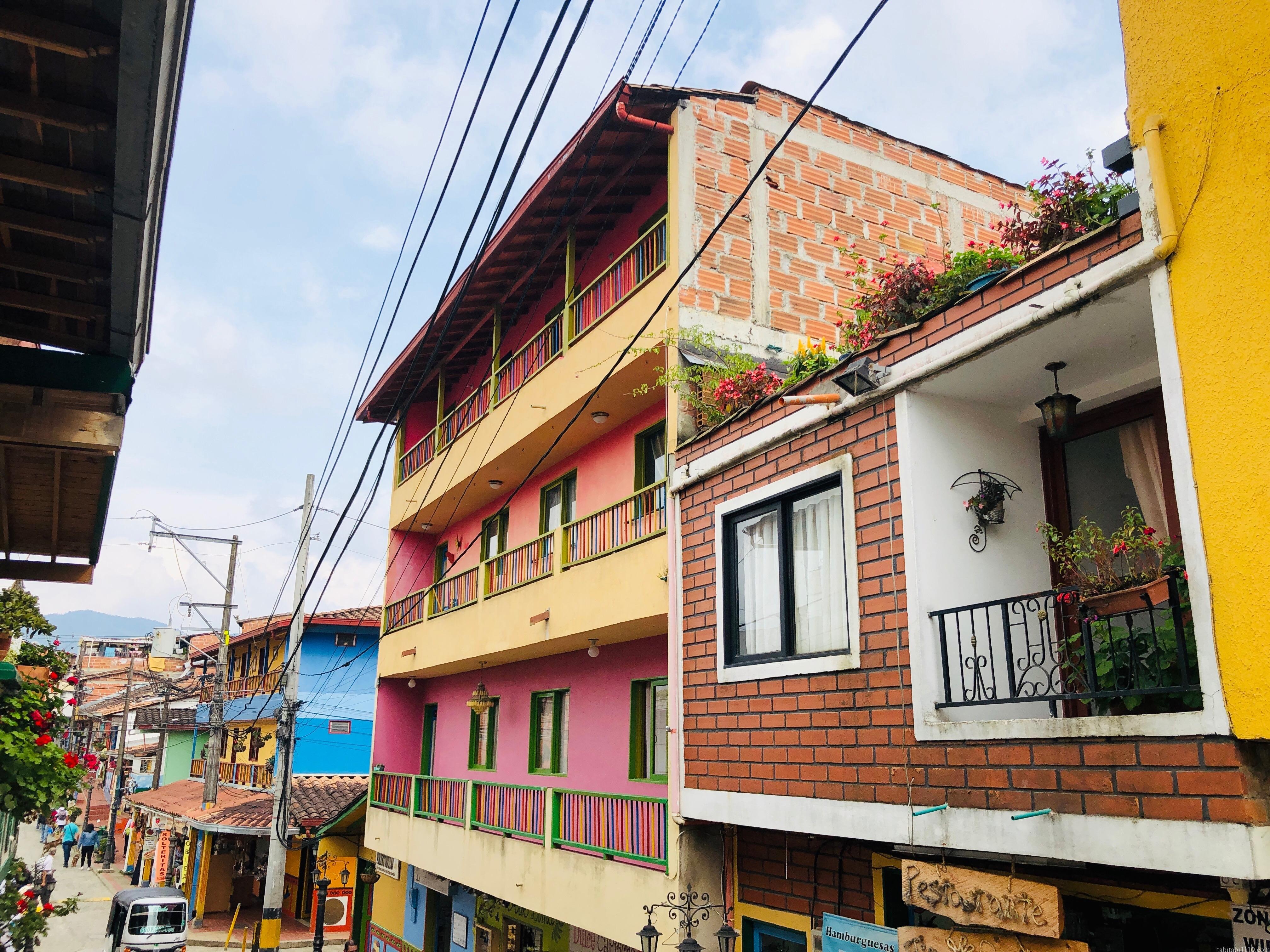 グアタペ 街並み