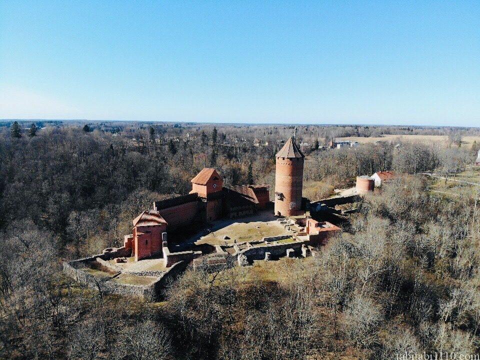 ラトビア トゥライダ城