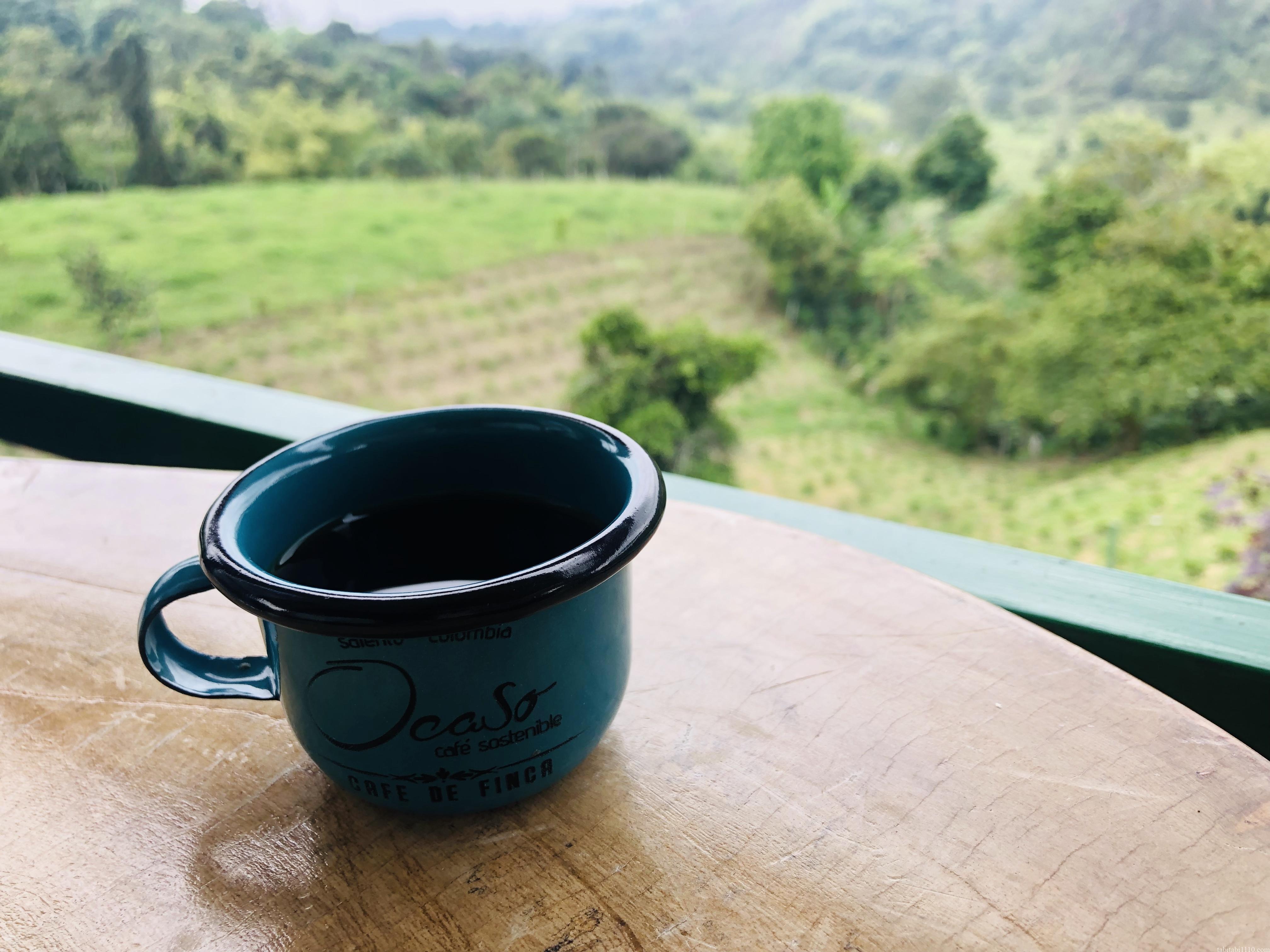 El Ocasoのカフェ