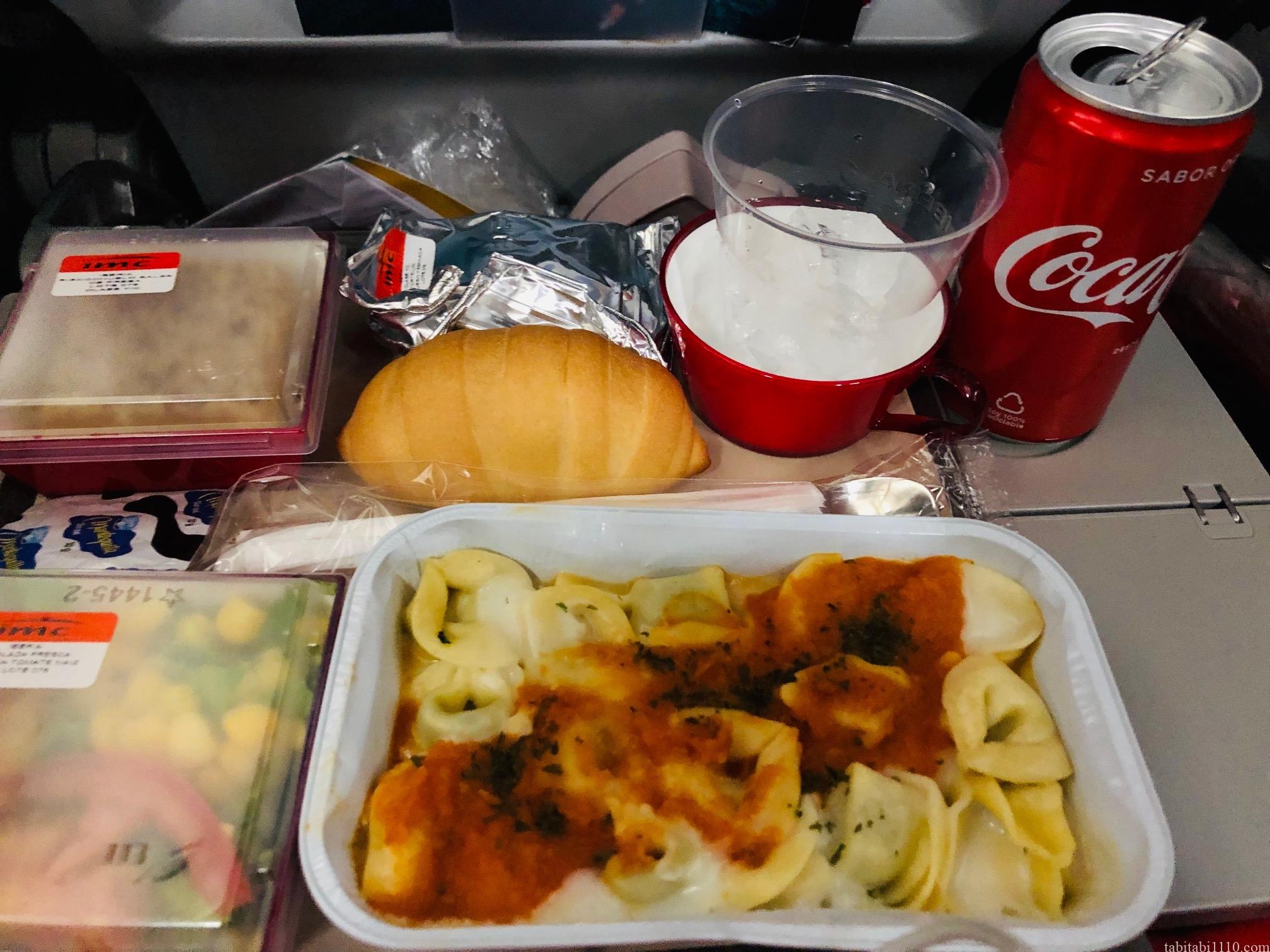 イベリア航空 機内食