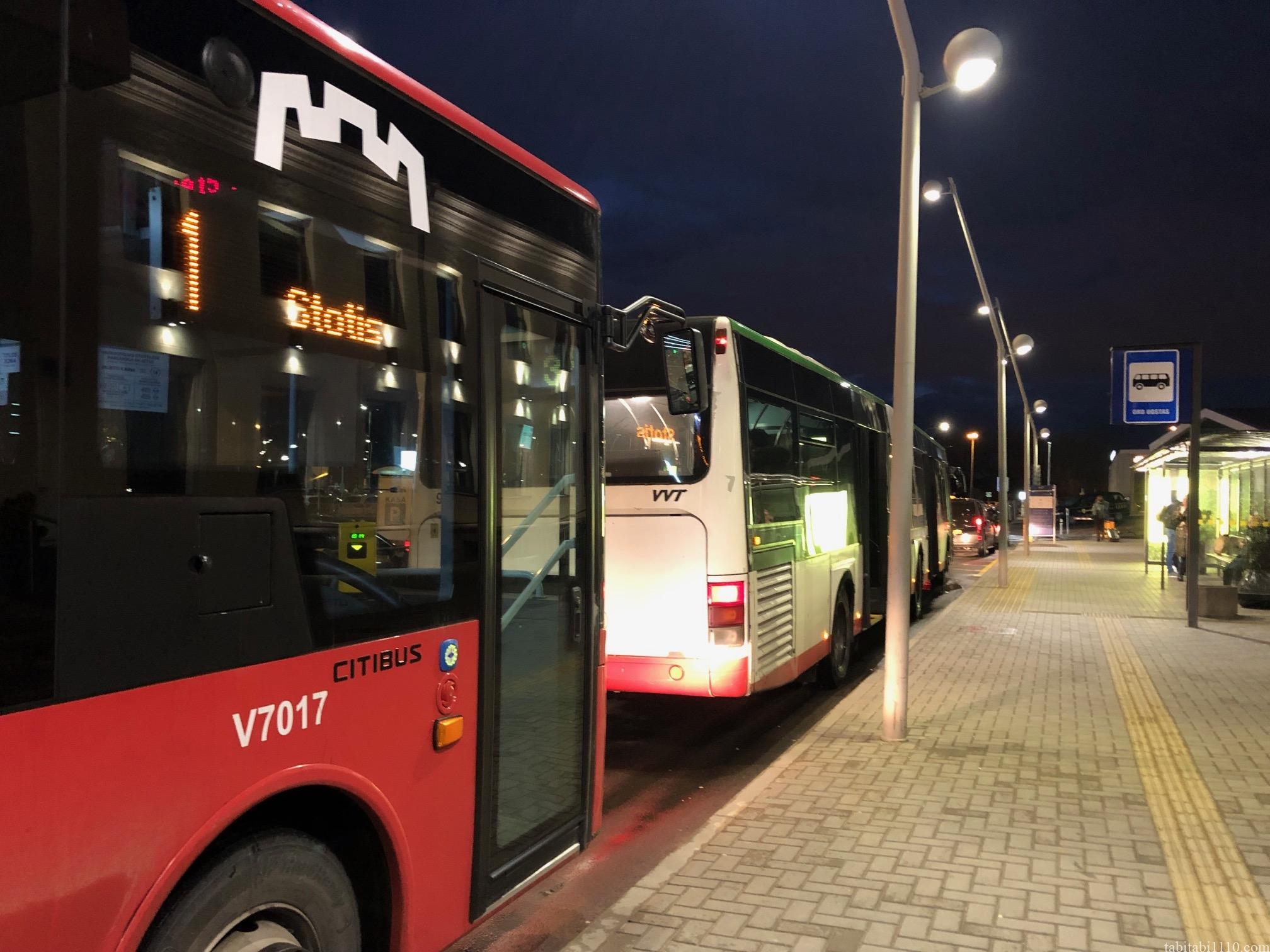 ビリニュス 市内バス
