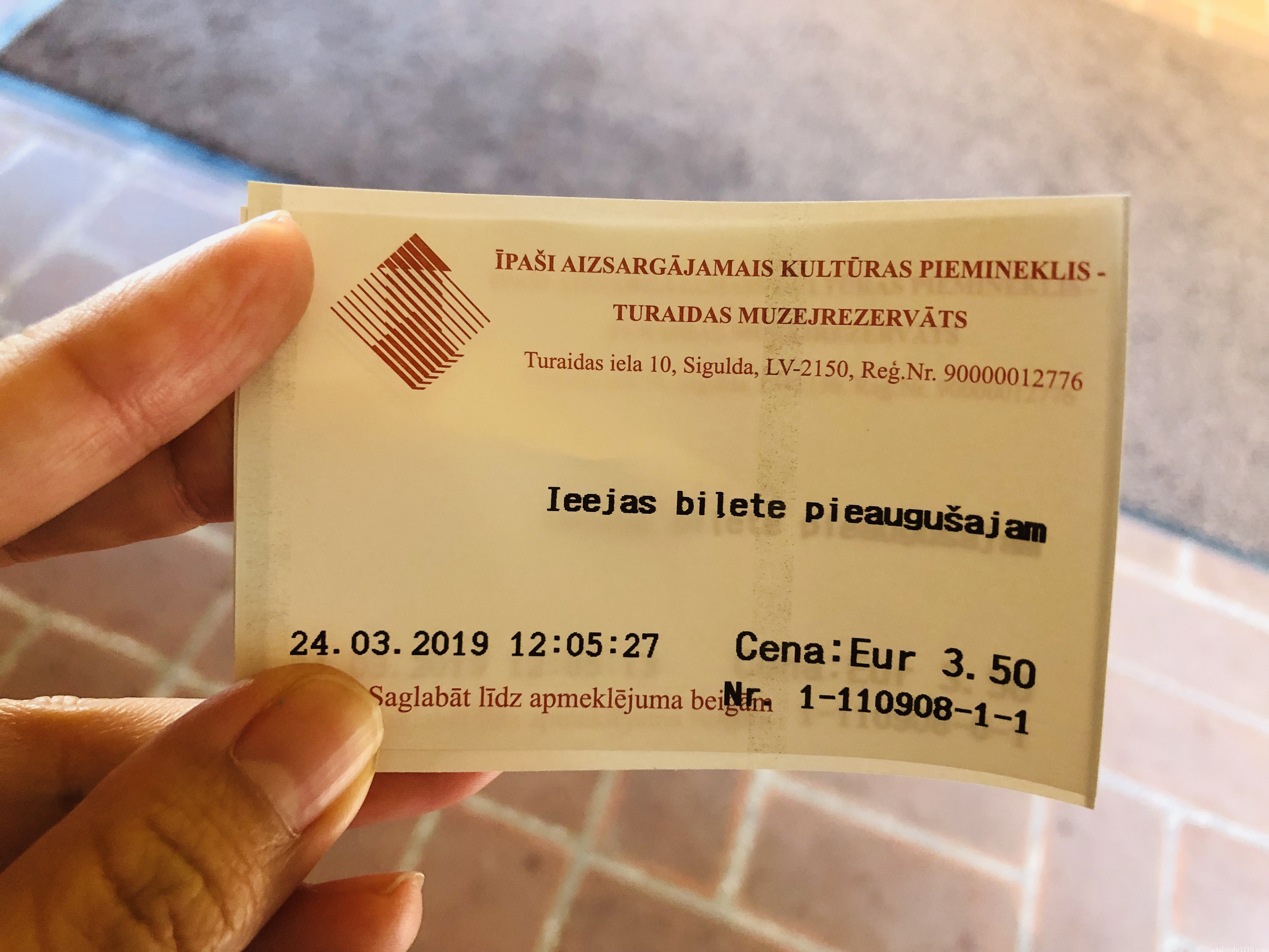 トゥライダ城チケット