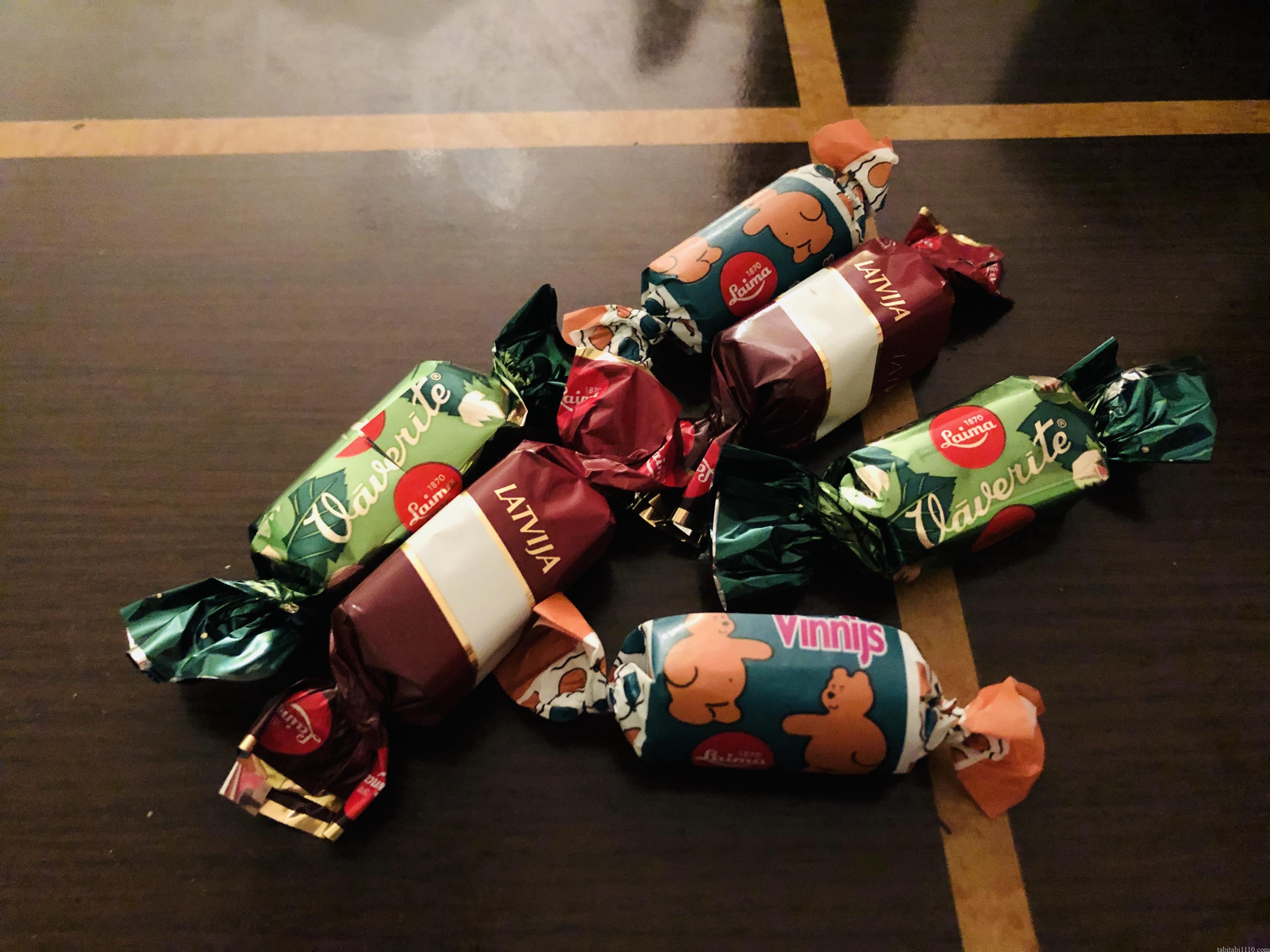 Laimaのチョコレート