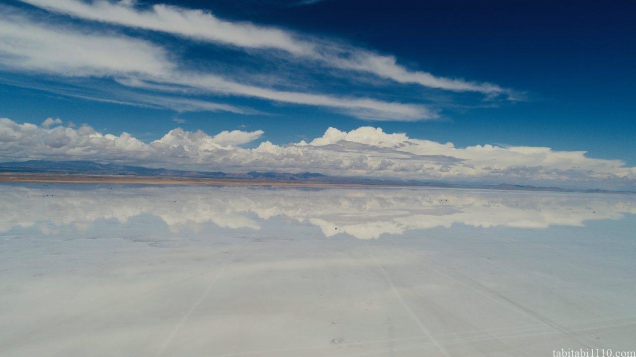 ウユニ塩湖 ドローン