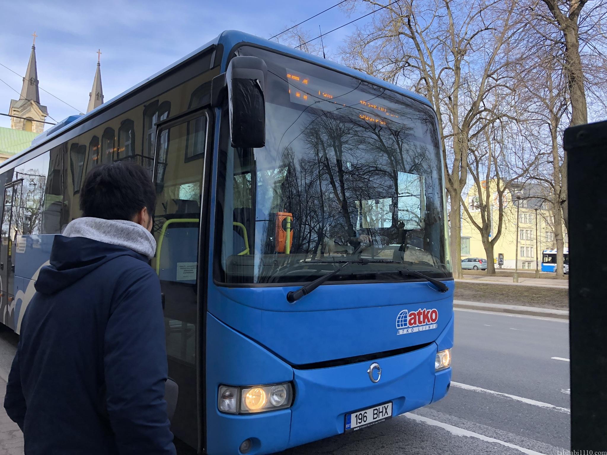 エストニア路線バス