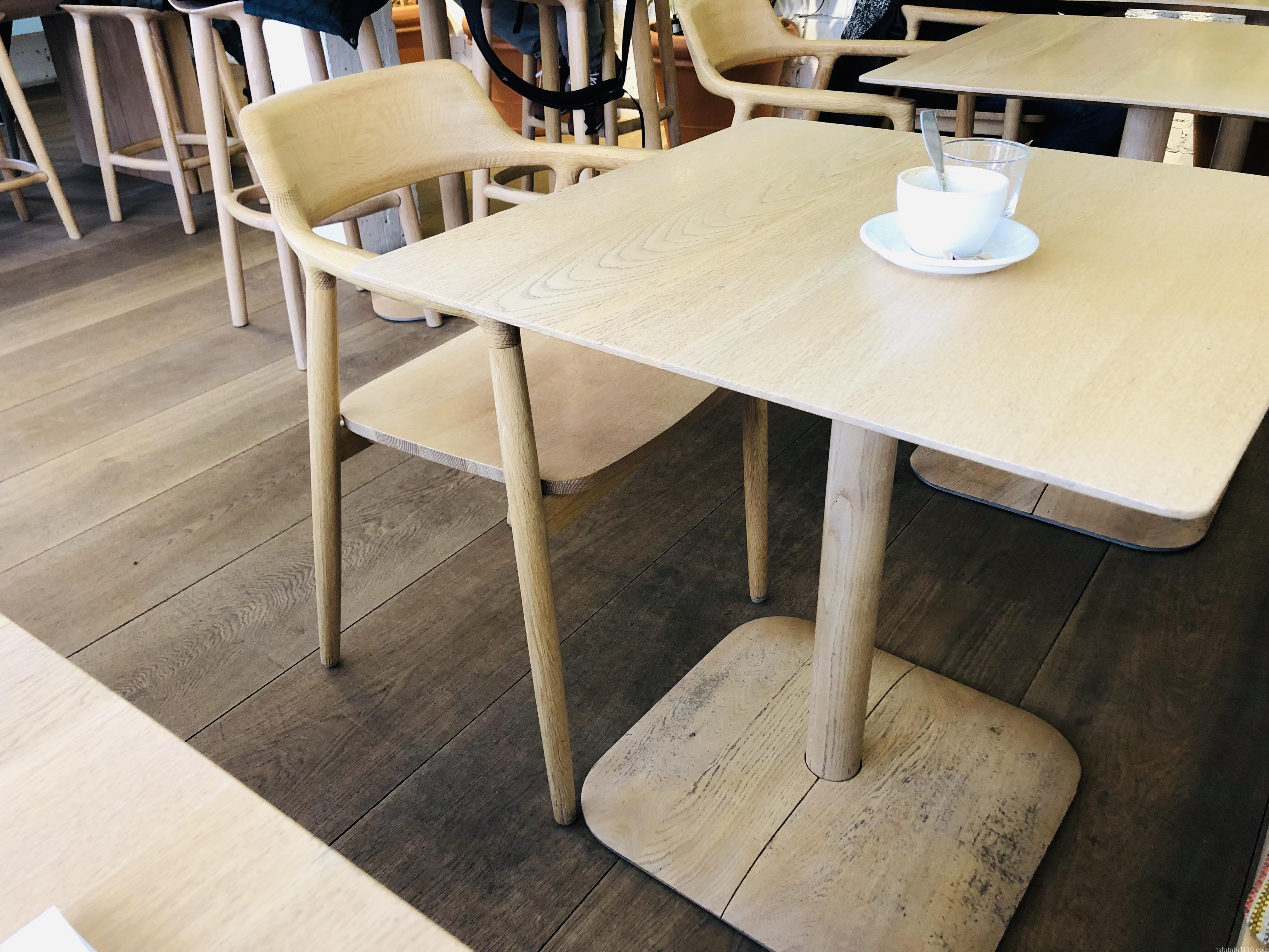 ヘルシンキのカフェ