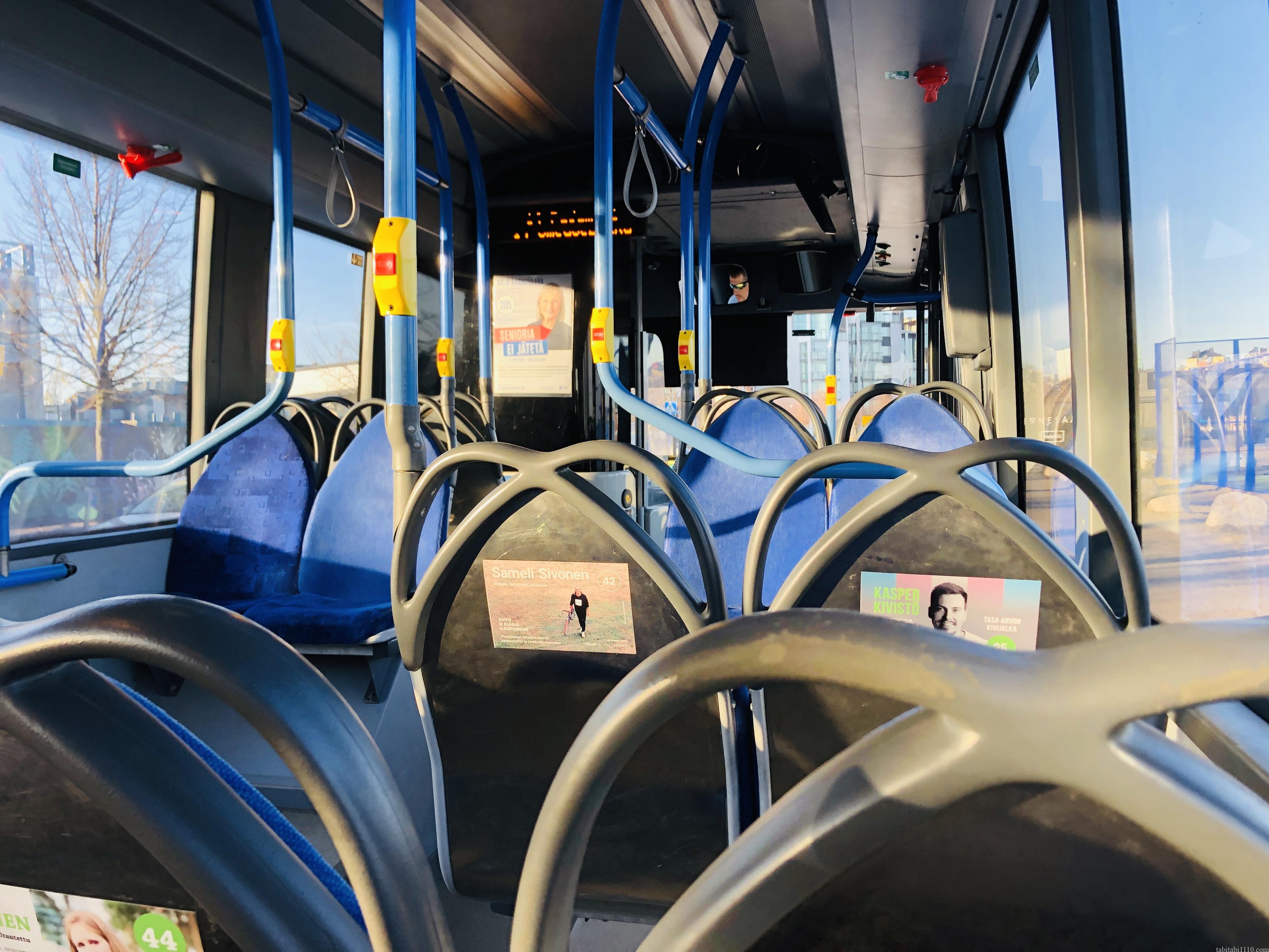 ヘルシンキのバス