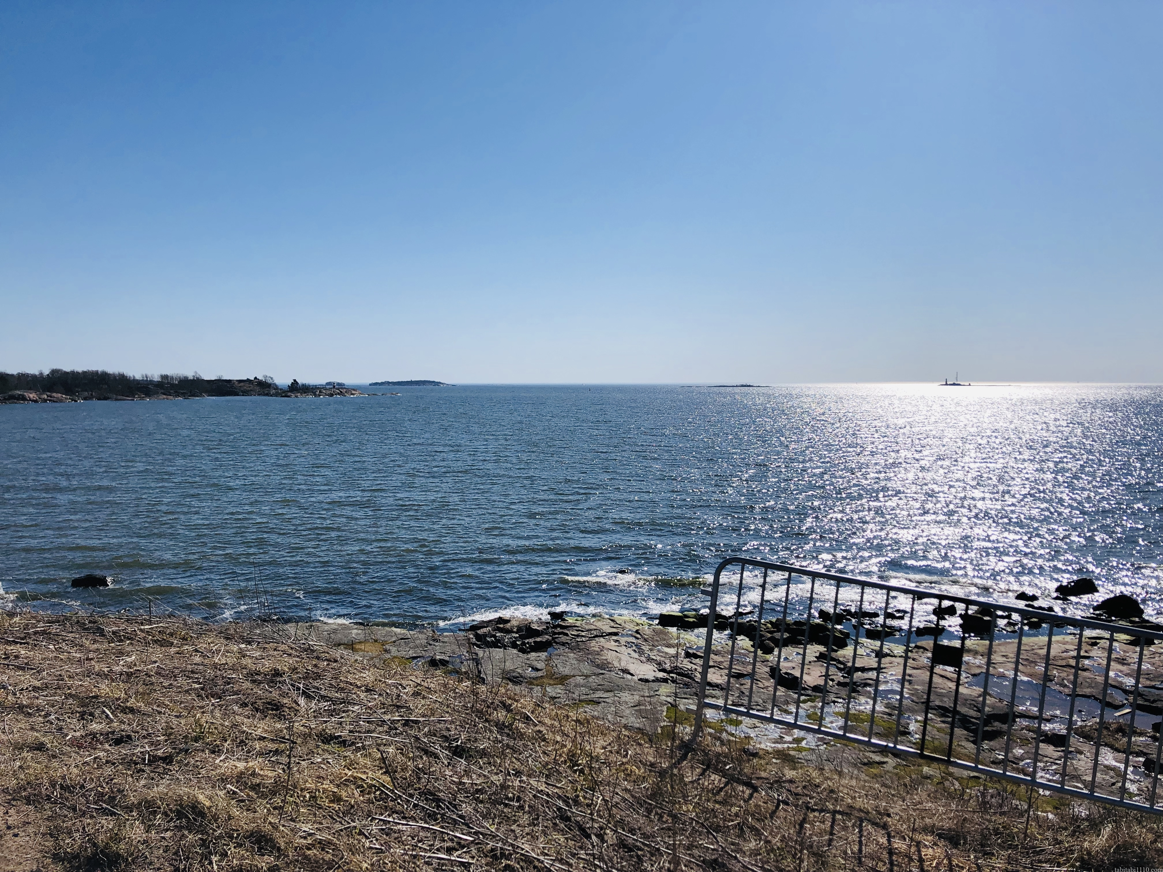 スオメンリンナから見た海