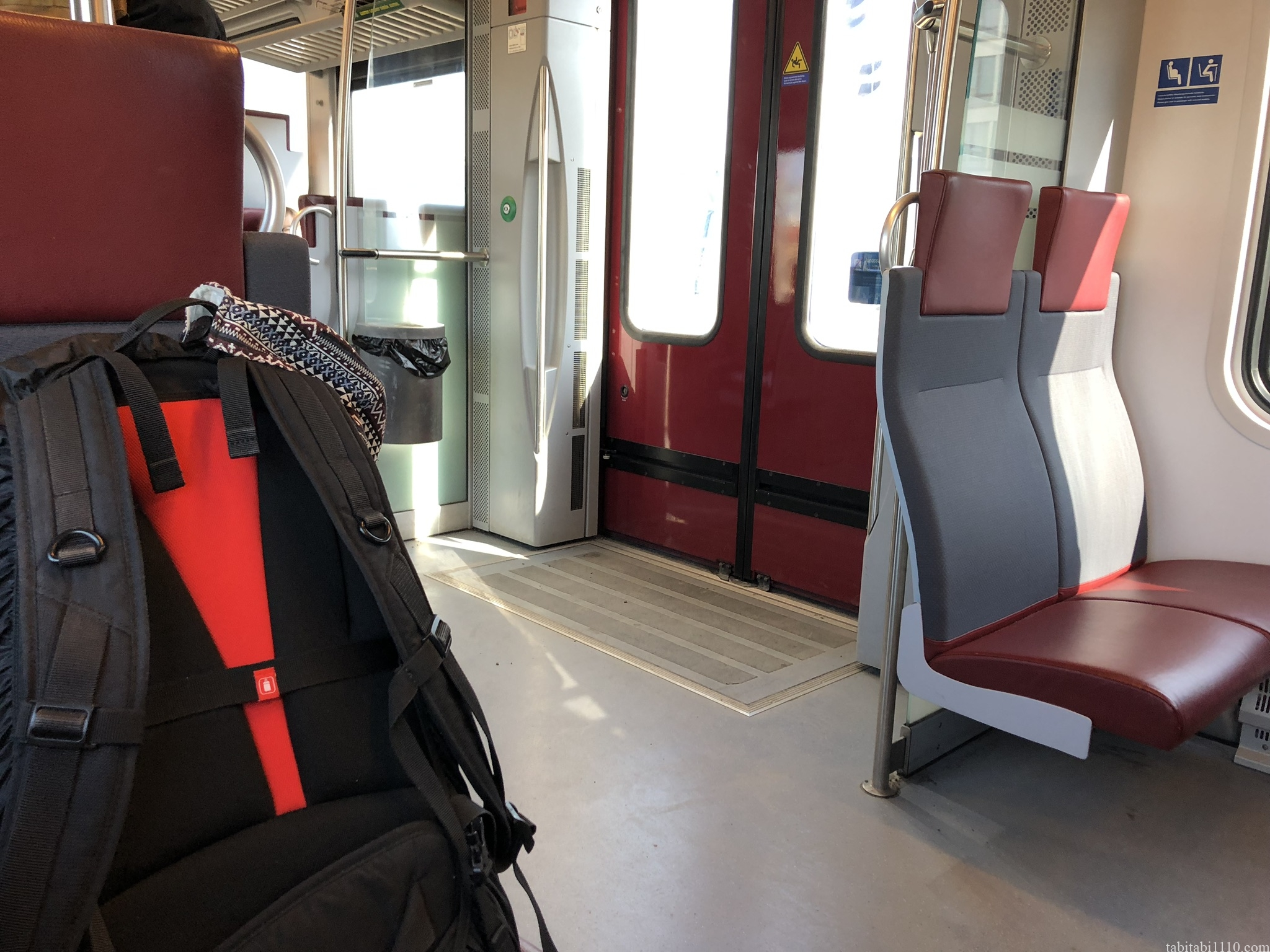 ヘルシンキの電車