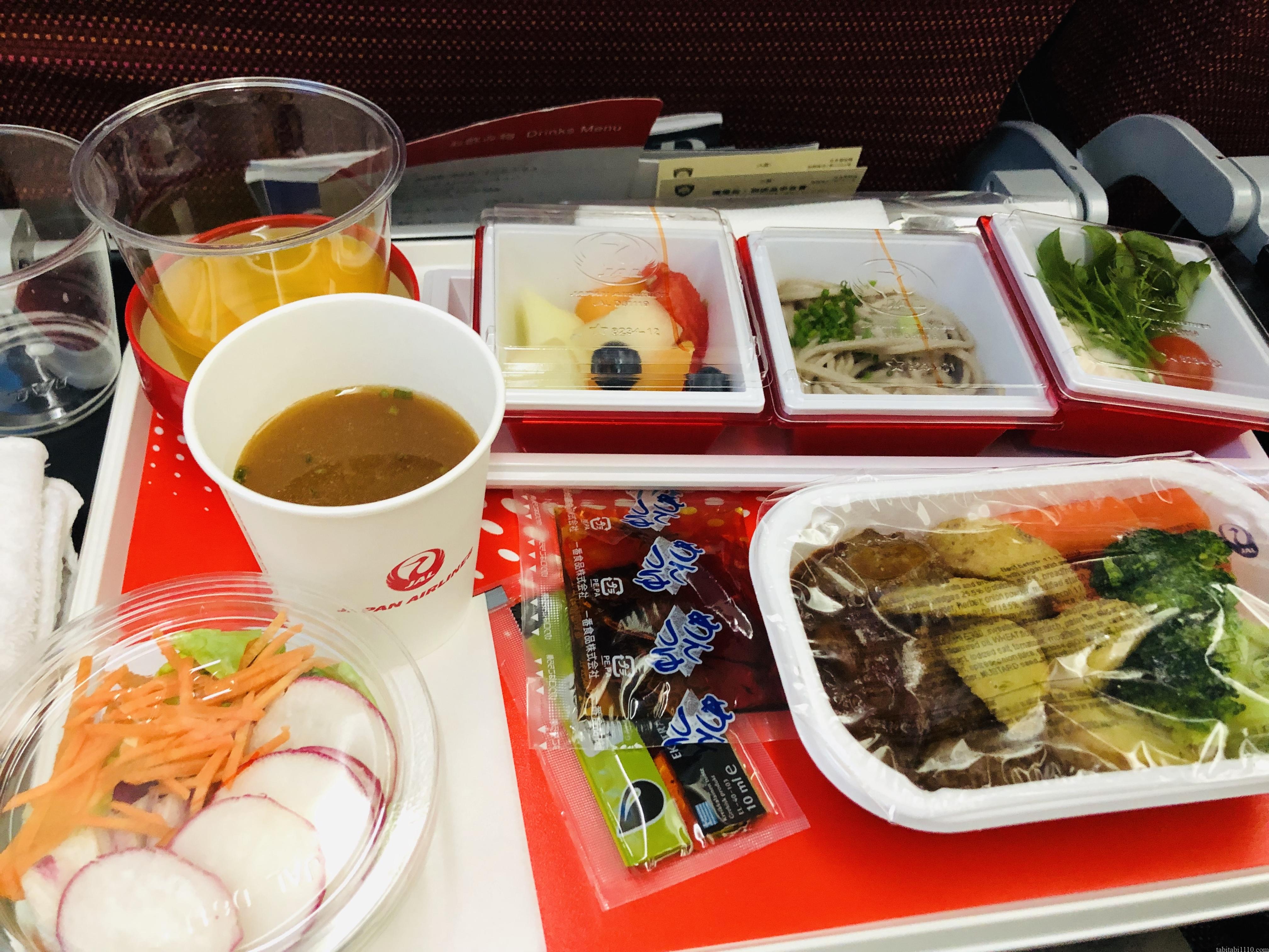 JAL機内食①