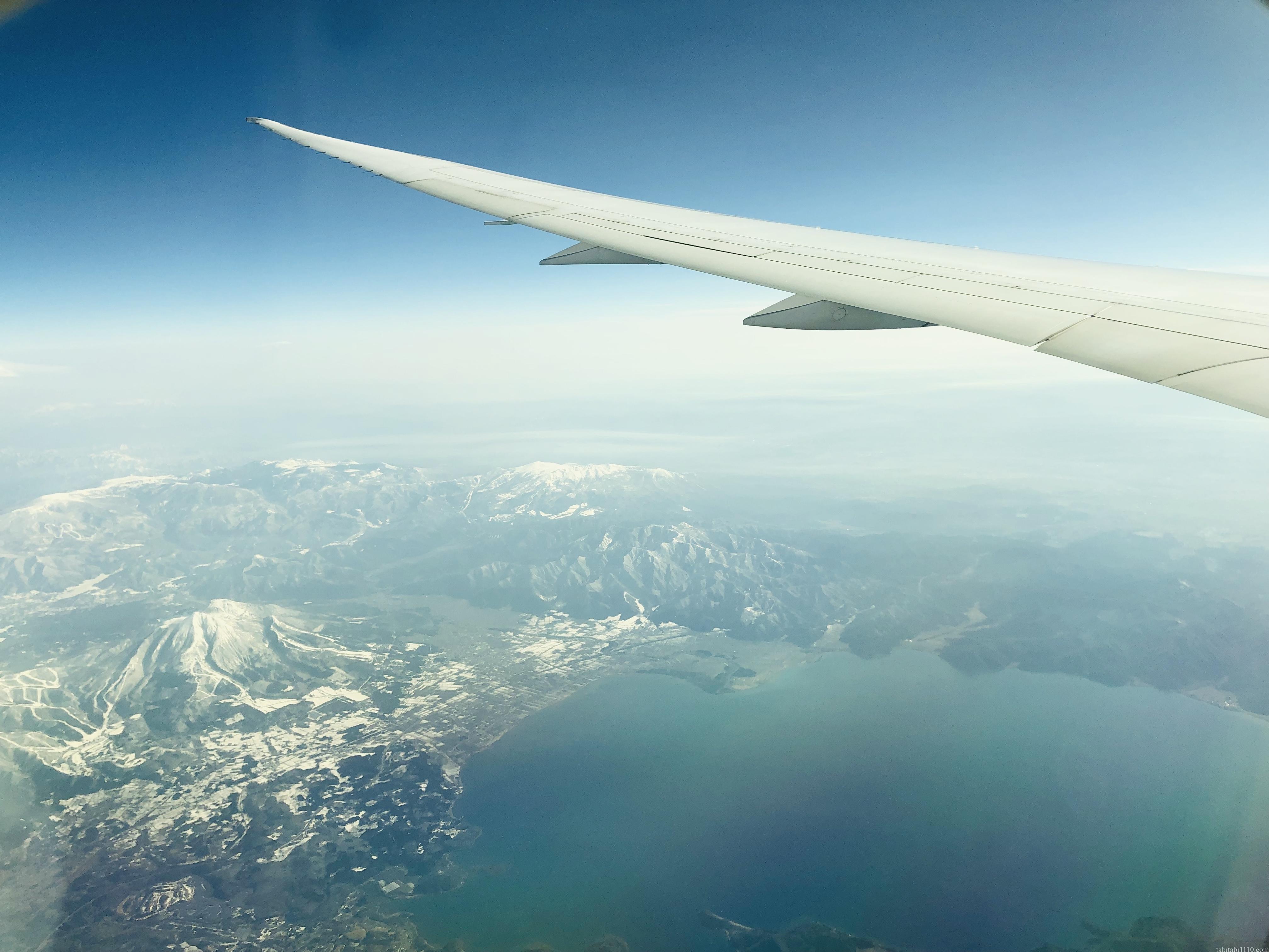 上空から見た日本