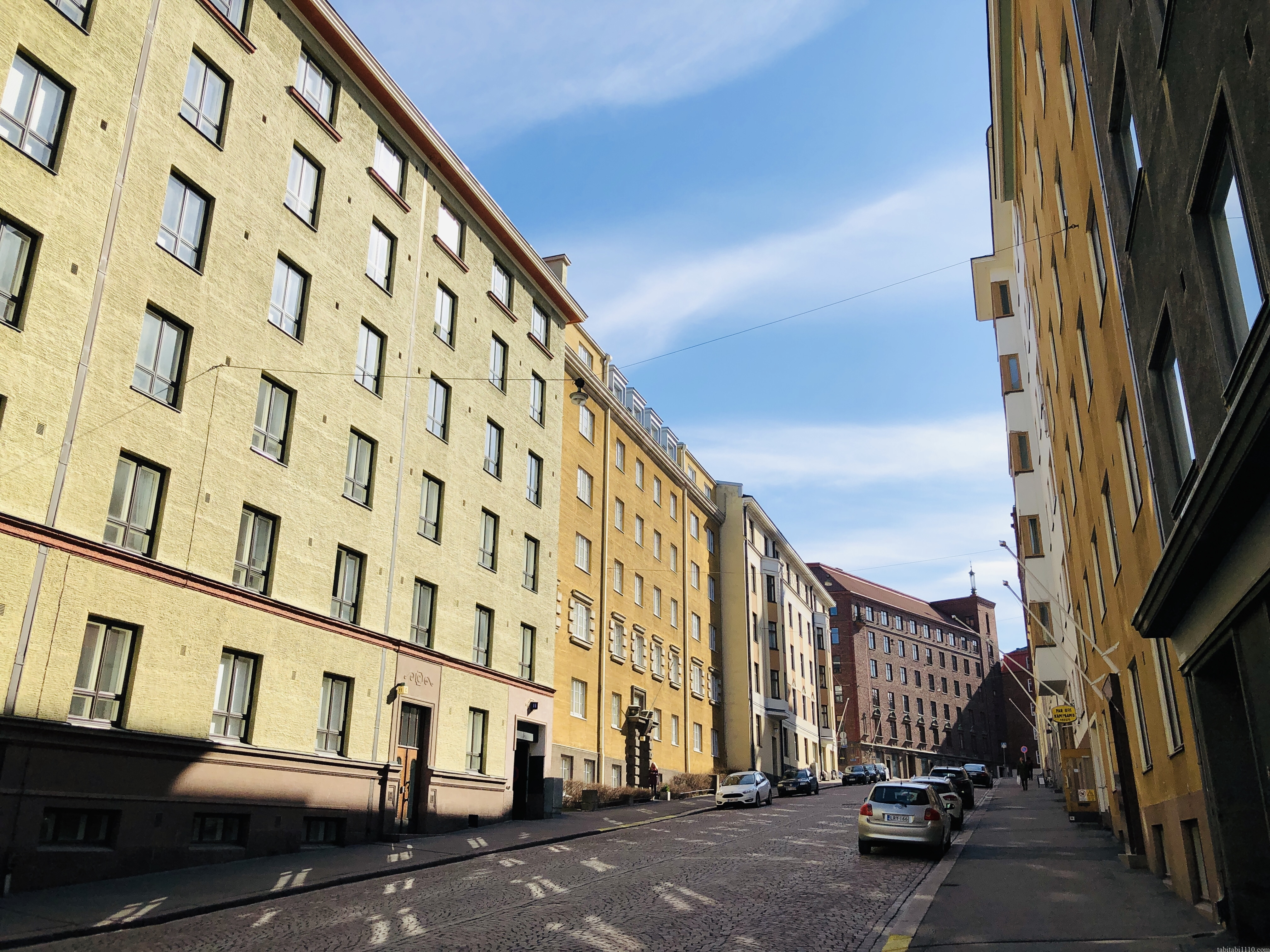 ヘルシンキ住宅街